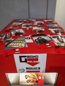 Box Komito à l'expo rouge