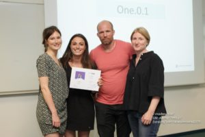 L'équipe ONE.O.1 remporte le prix Fisheye IncubaSchool