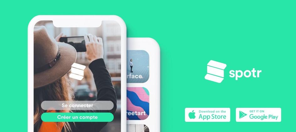 Spotr lance une nouvelle version de son application et sera présent le 21 septembre au Grand Palais
