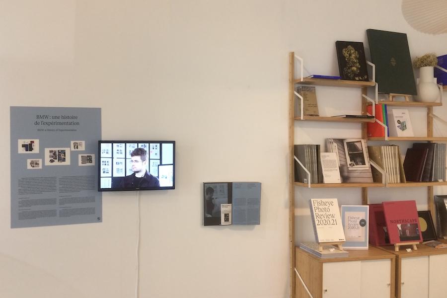 Projet de Blinkl & BMW exposé à la Fisheye Gallery