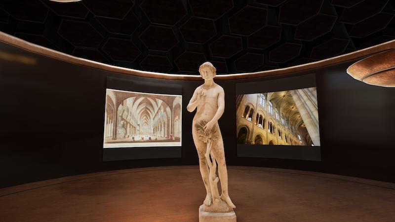 expérience immersive en réalité virtuelle